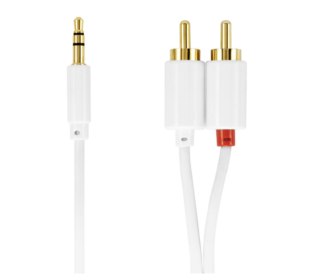 IWANTIT I35RCA13 3.5 mm to RCA Cable - 1.8 m, Gold