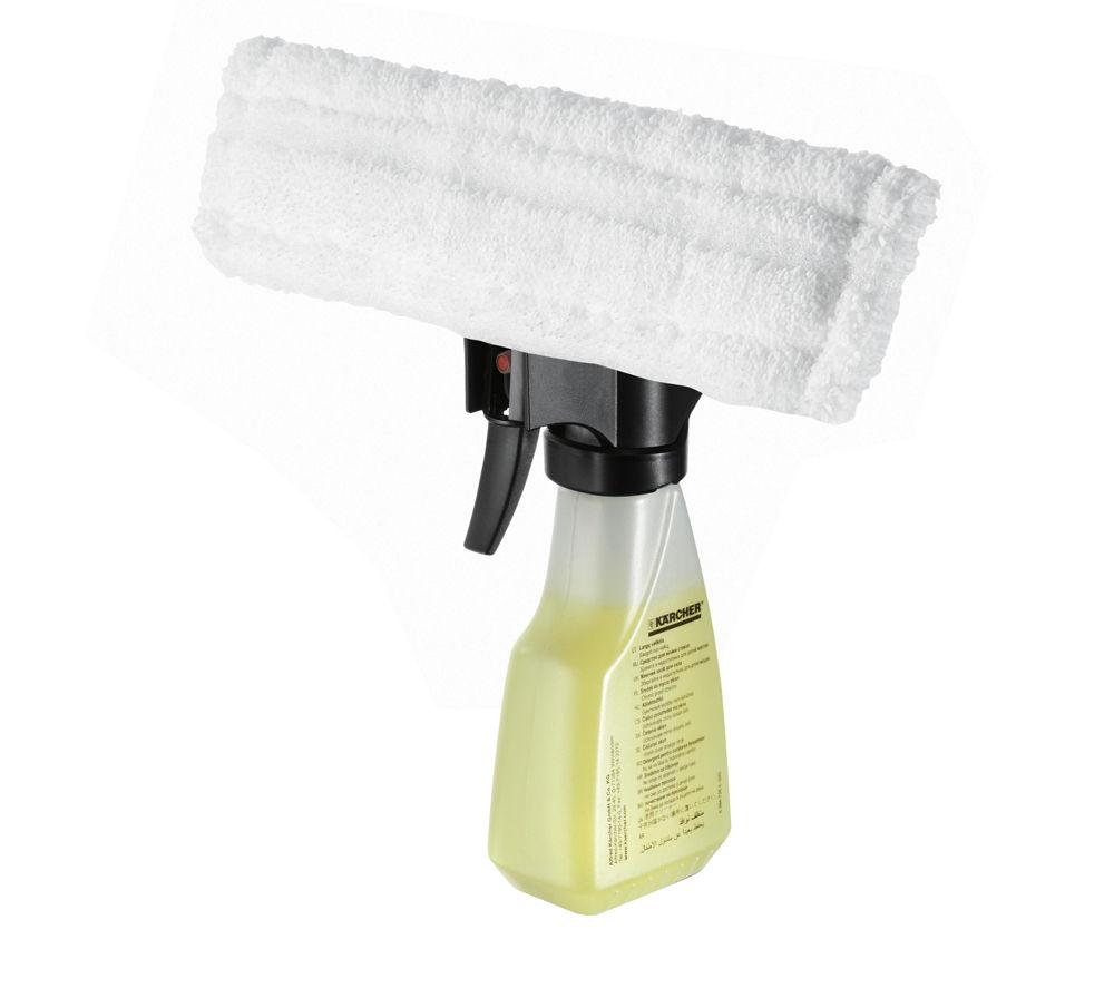 Image of Karcher Spray Bottle & Microfibre Pad Kit for Window Vacs
