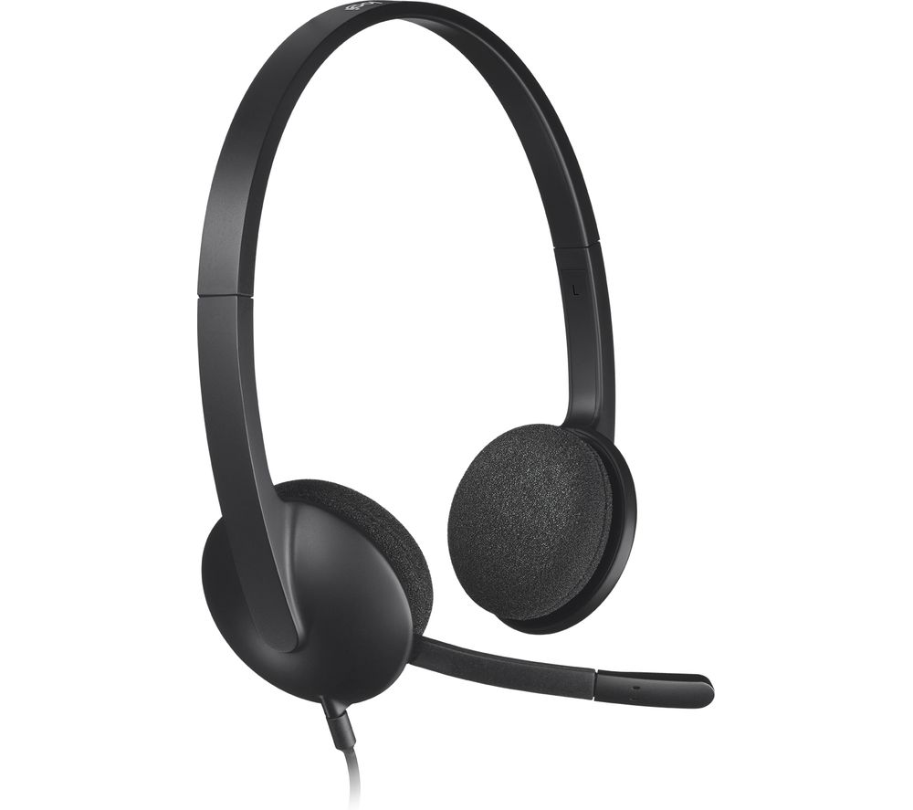 Image of Logitech H340 PC and Mac USB Headset