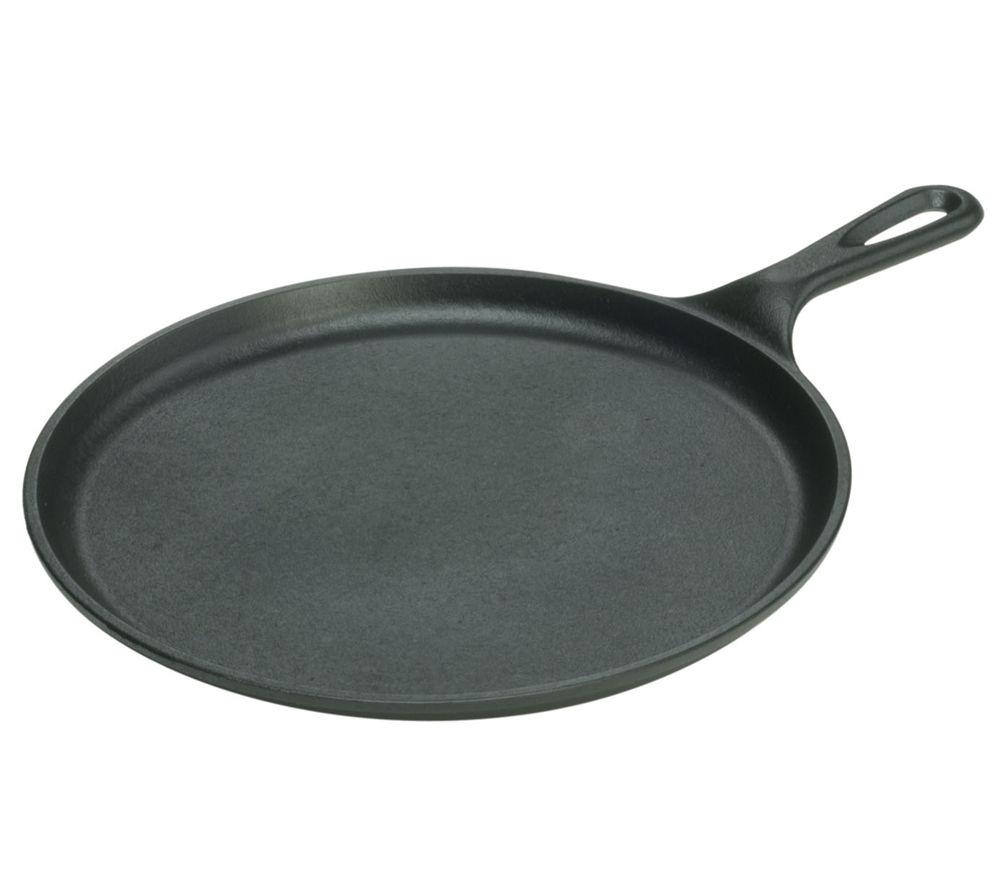 EDDINGTONS 17L9OG3 Round 27 cm Pancake Griddle - Black