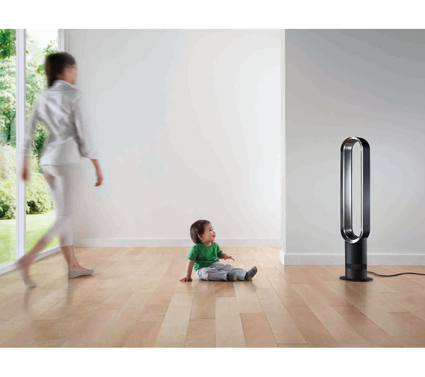 Buy Dyson Am07 Tower Fan White Amp Silver Free Delivery
