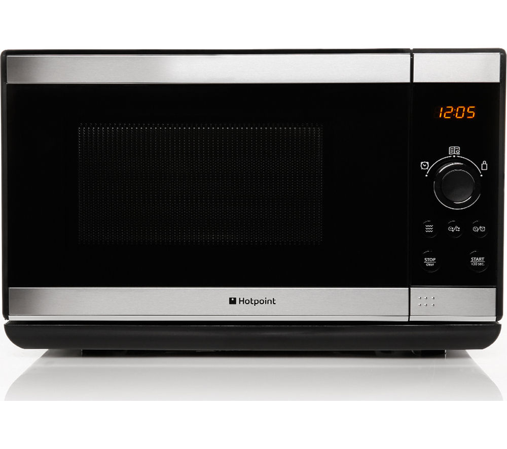 Hotpoint Mwh2021xuk Solo Microwave Stainless Steel