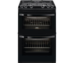 ZANUSSI ZCG63040BA 60 cm Gas Cooker - Black