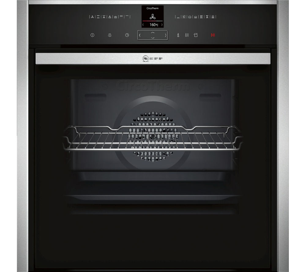 NEFF B47VR32N0B Electric Steam Oven - Stainless Steel, Stainless Steel