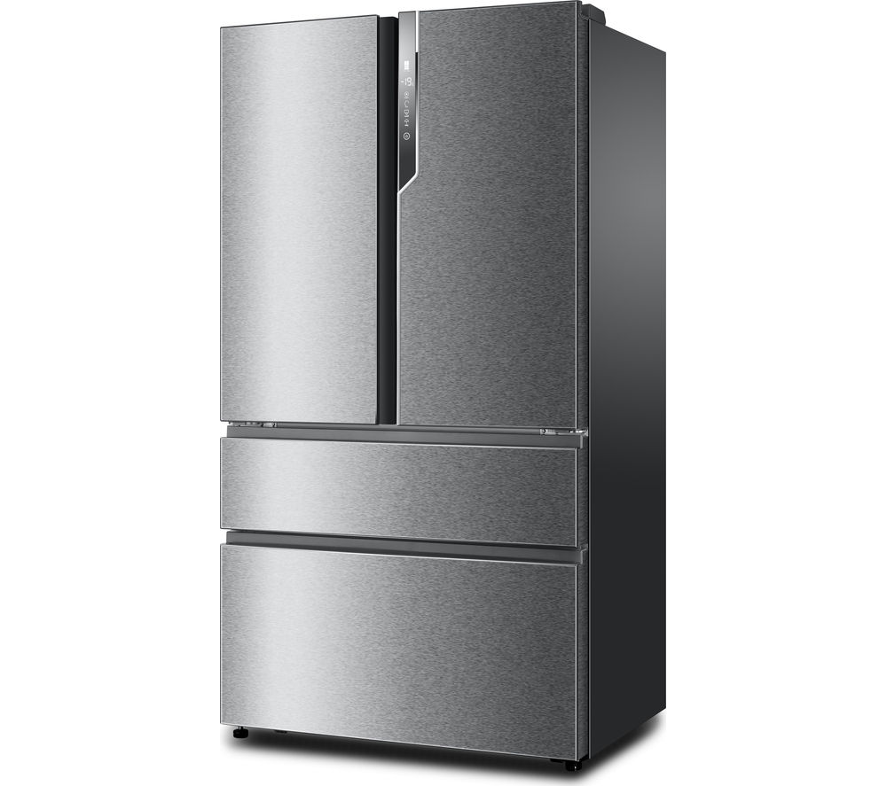 buy haier hb25fssaaa american style fridge freezer stainless steel free delivery currys. Black Bedroom Furniture Sets. Home Design Ideas