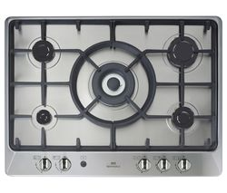 NEW WORLD NWGHU701 Gas Hob - Stainless Steel