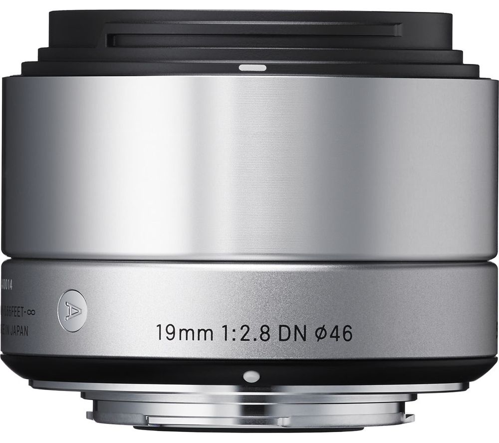 SIGMA 19 mm f/2.8 DN Wide-angle Prime Lens - for Sony, Silver