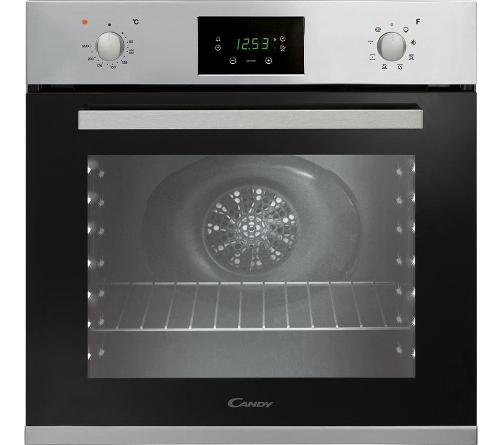 CANDY FVPE729/6X Electric Built-under Oven - Stainless Steel