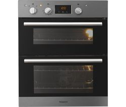 Class 2 DU2 540 IX Electric Built-under Double Oven - Stainless Steel