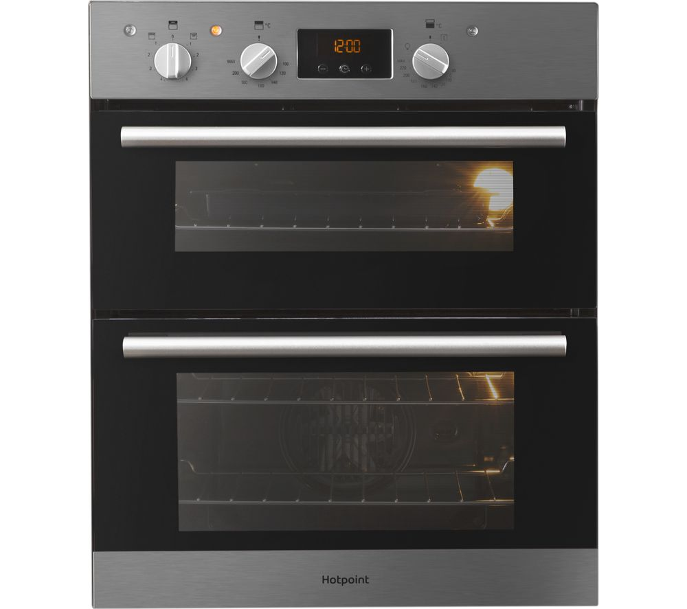 HOTPOINT Class 2 DU2 540 IX Electric Built-under Double Oven - Stainless Steel