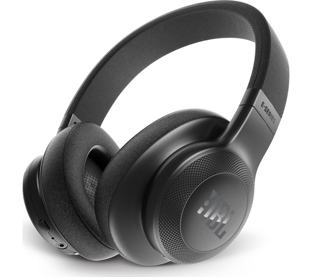 JBL E55BT Wireless Bluetooth Headphones - Black
