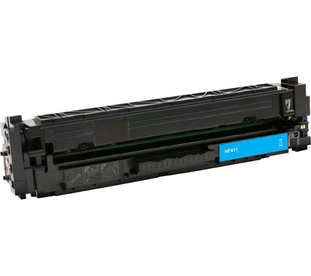 Compare retail prices of Essentials Remanufactured CF411A Cyan HP Toner Cartridge to get the best deal online