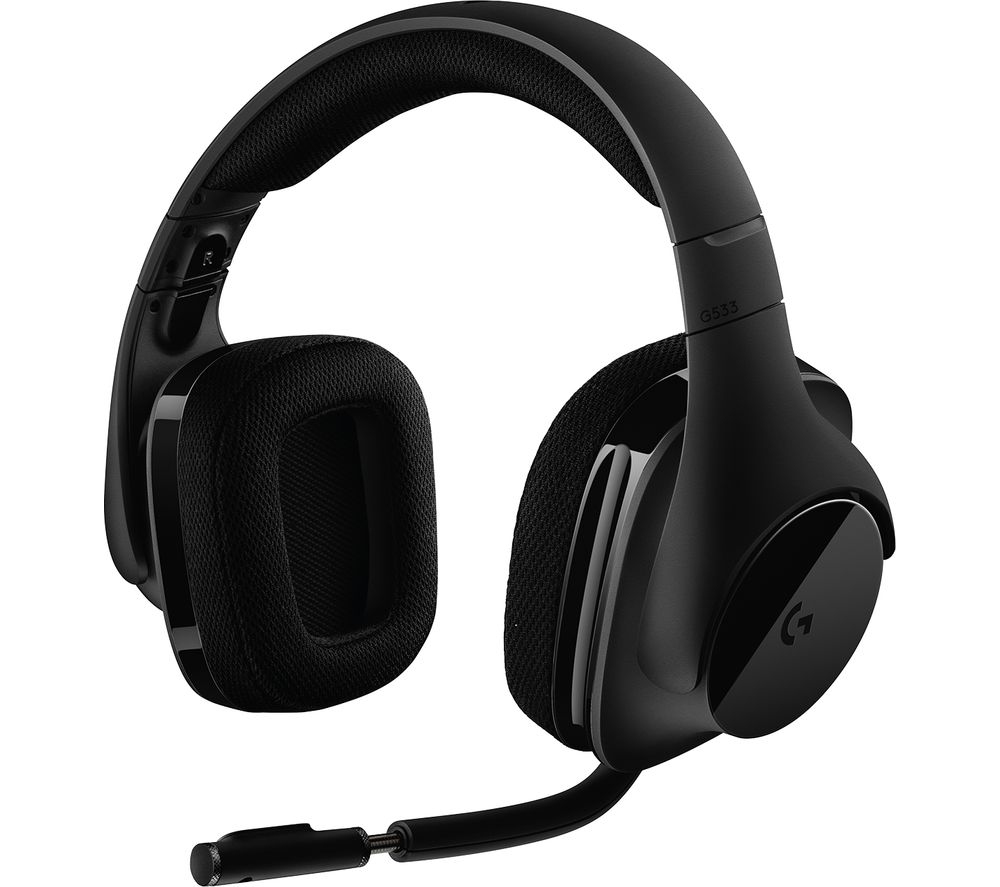 LOGITECH G533 Wireless 7.1 Gaming Headset - Black