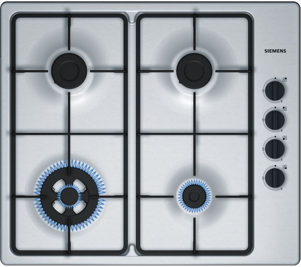 Image of SIEMENS EB6B5HB60 Gas Hob - Stainless Steel