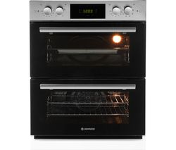 H-OVEN 300 HDO8442X Electric Built-under Double Oven - Stainless Steel