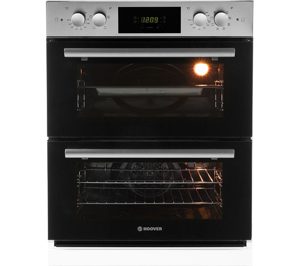 HOOVER HDO8442X Electric Built-under Double Oven - Stainless Steel