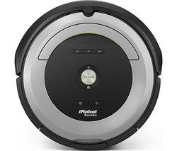 IROBOT Roomba 680 Robot Vacuum Cleaner - Black & Grey