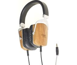 M&J MJ2 Headphones - Black Wood