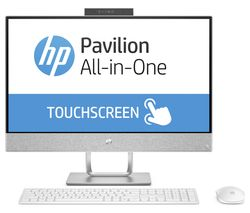 "HP Pavilion 24"" Touchscreen All-in-One PC - White"