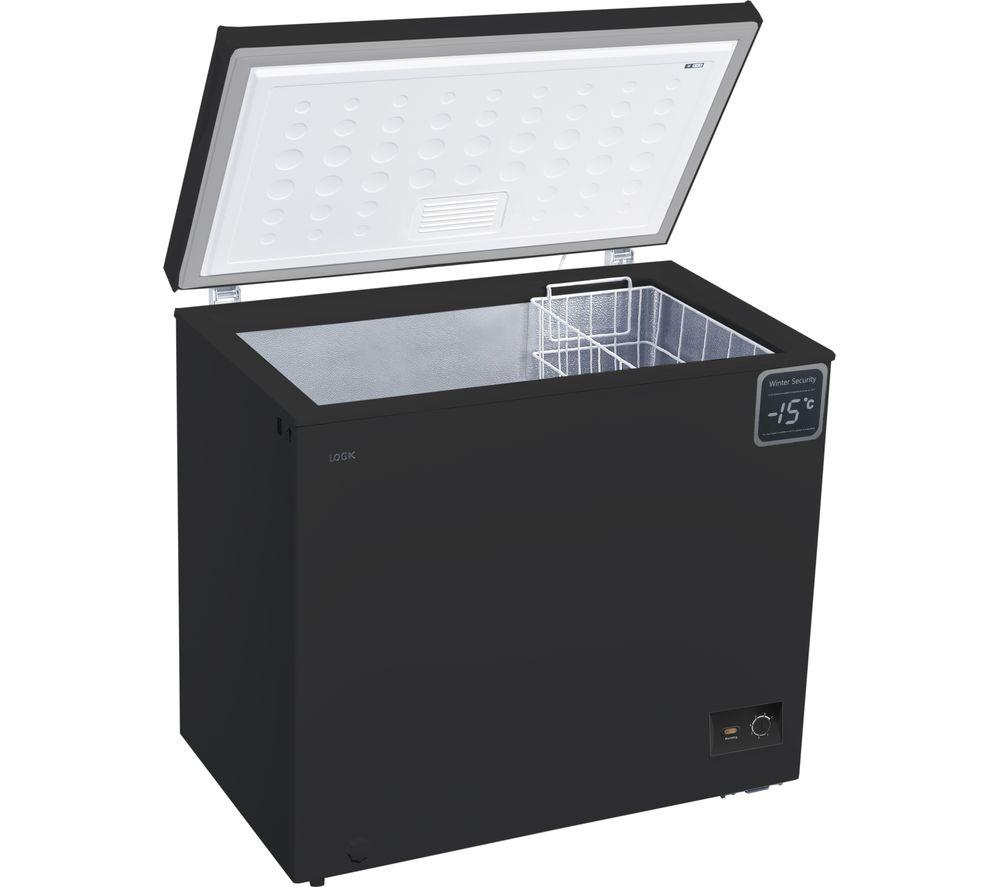 LOGIK L200CFB18 Chest Freezer - Black