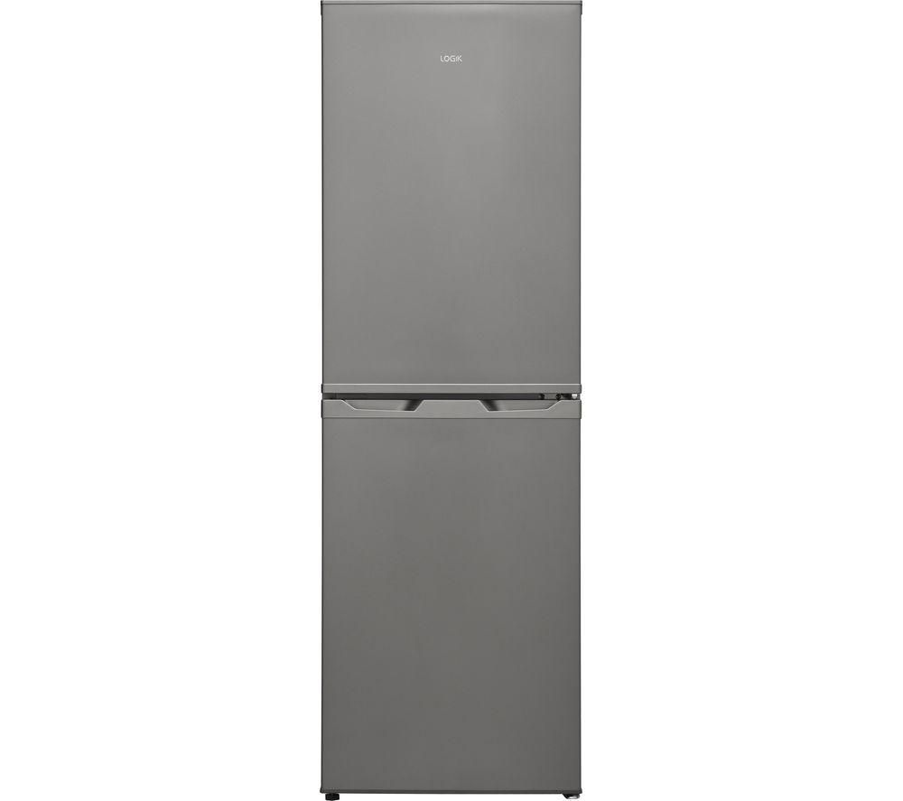 LOGIK LFC50S18 50/50 Fridge Freezer - Silver