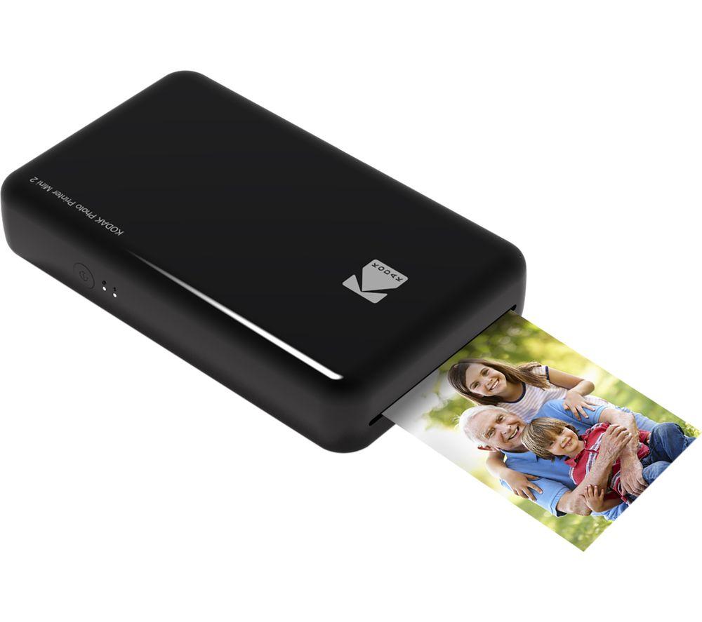 KODAK Mini 2 Photo Printer - Black