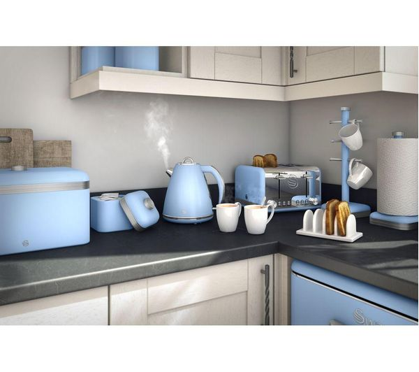 Buy Swan Retro Sk19020bln Jug Kettle Blue Free Delivery Currys