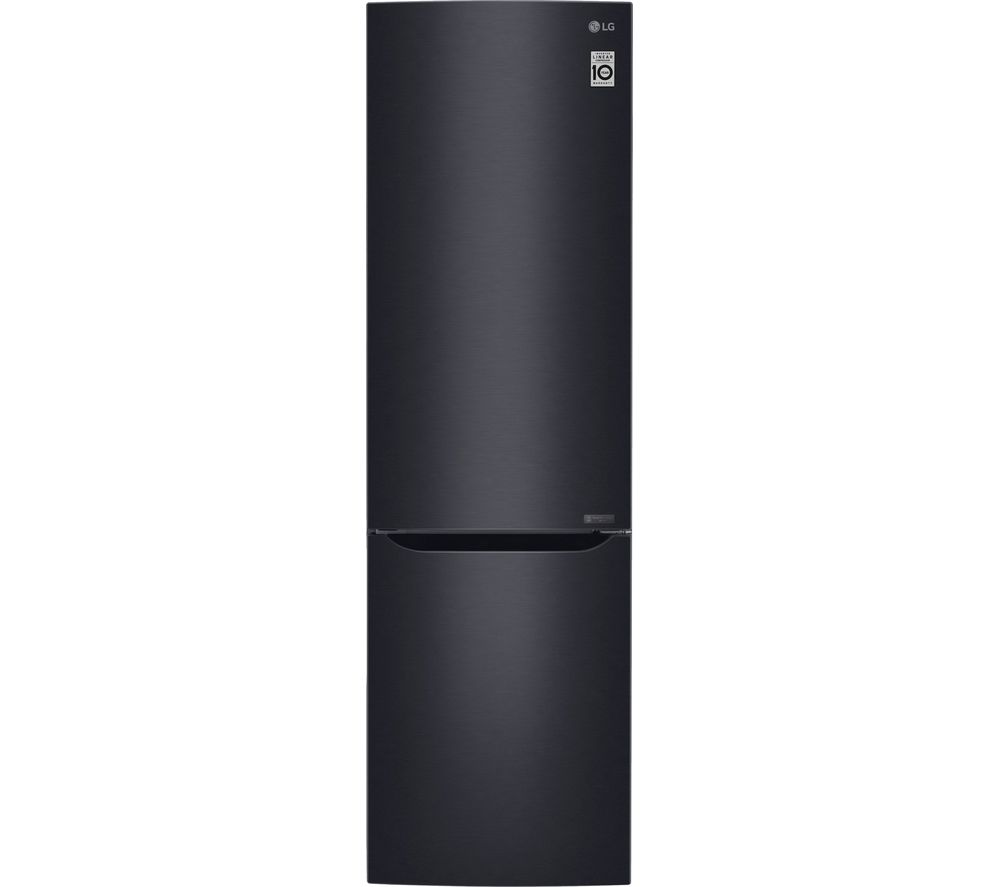 LG GBB60MCGFS 70/30 Fridge Freezer - Black