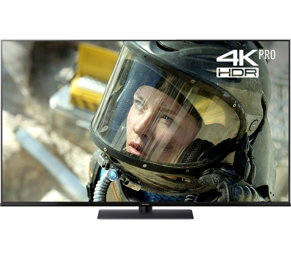 "49""  PANASONIC TX-49FX740B Smart 4K Ultra HD HDR LED TV, Gold"