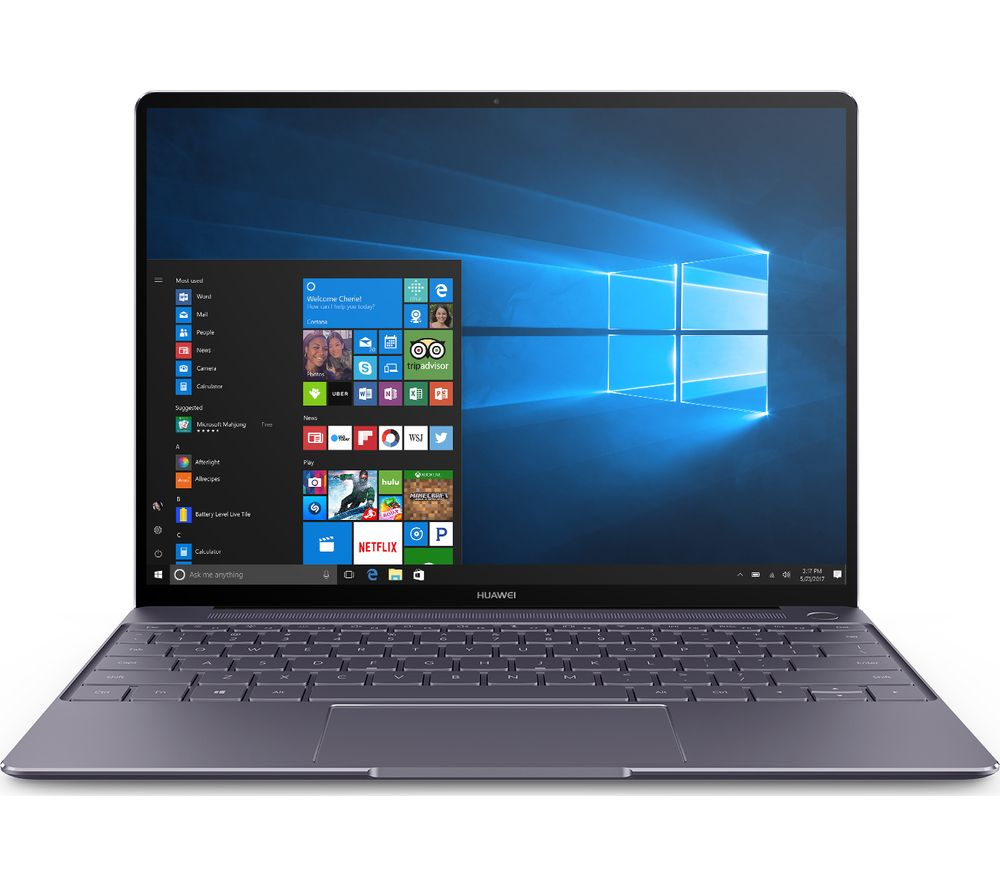 "HUAWEI Matebook X 13"" Intel® Core™ i5 Laptop - 256 GB SSD, Grey, Grey"
