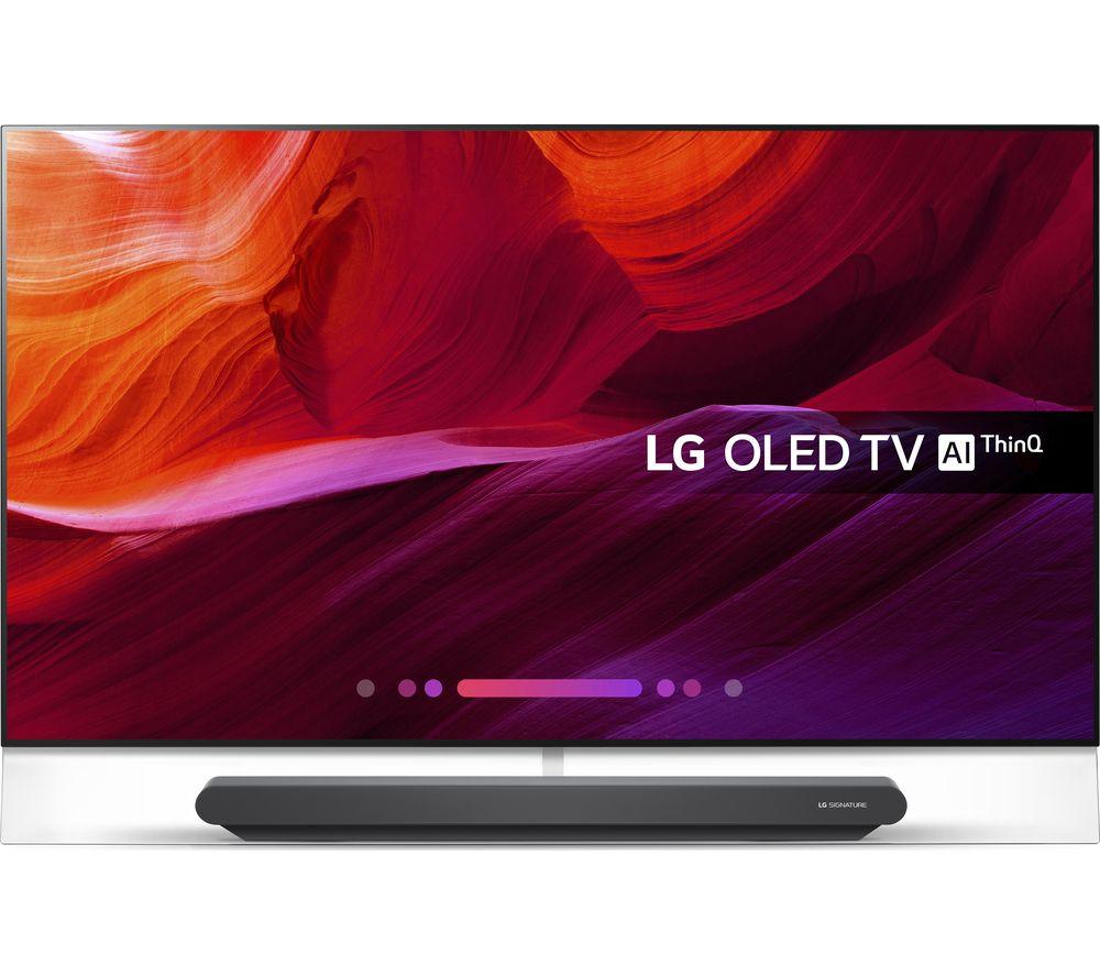"Image of 65"" LG OLED65G8PLA Smart 4K Ultra HD HDR OLED TV, Black"