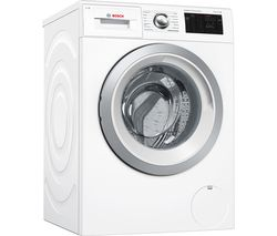 BOSCH Serie 6 i-Dos WAT286H0GB Smart 9 kg 1400 Spin Washing Machine - White