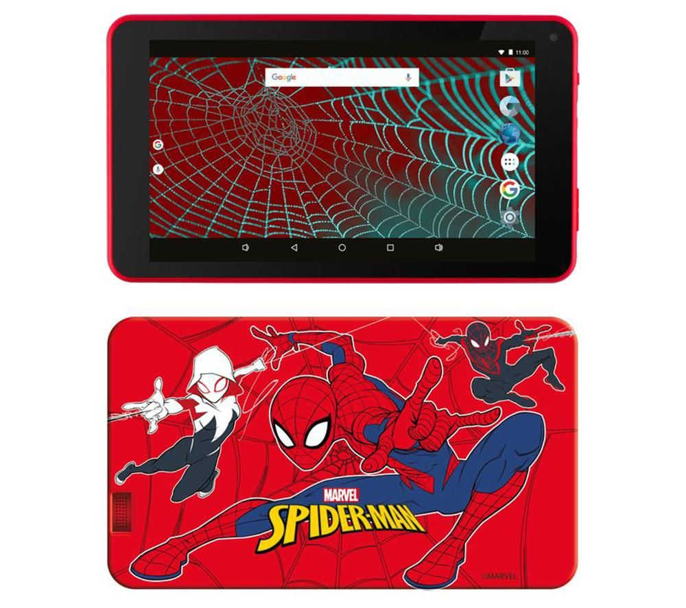 "Image of ESTAR 7"" Tablet & Case - 8 GB, Spiderman, Red"