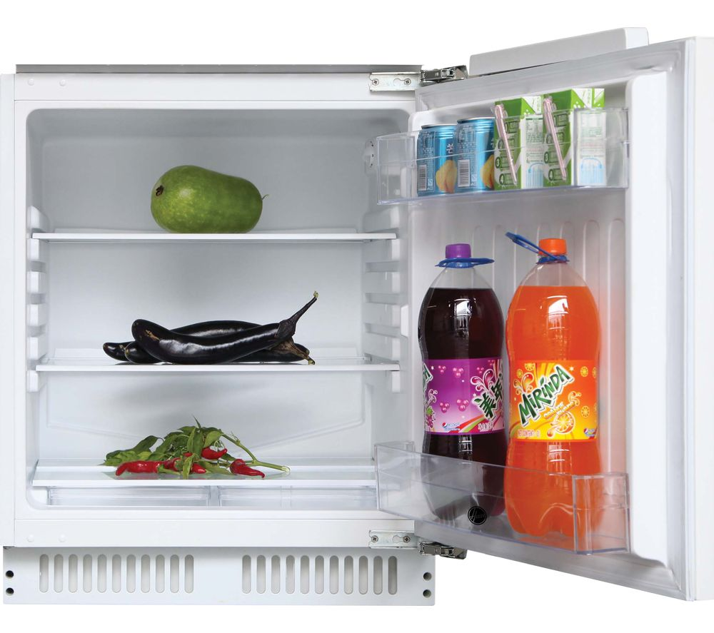 HOOVER HBRUP160NK Integrated Undercounter Fridge