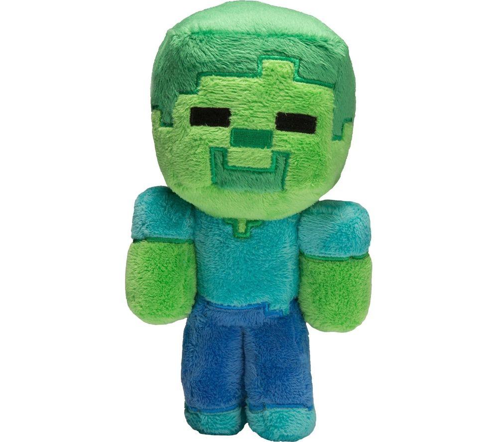 MINECRAFT Baby Zombie Plush Toy - 8.5 inch, Green