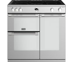 STOVES Sterling S900Ei 90 cm Electric Induction Range Cooker - Stainless Steel Best Price, Cheapest Prices