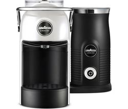 LAVAZZA Jolie & Milk Coffee Machine - White