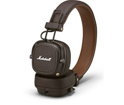 MARSHALL Major III Wireless Bluetooth Headphones - Brown