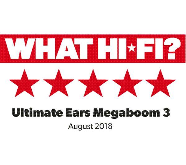 ULTIMATE EARS BOOM 3 Portable Bluetooth Speaker - Black