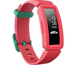 Image of FITBIT Ace 2 Kid's Fitness Tracker - Watermelon & Teal, Universal