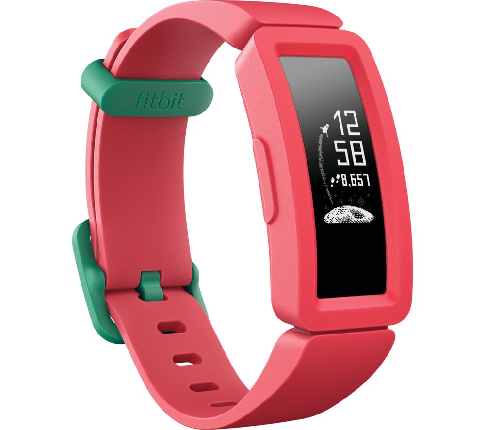 FITBIT Ace 2 Kids Fitness Tracker - Watermelon & Teal, Universal, Teal