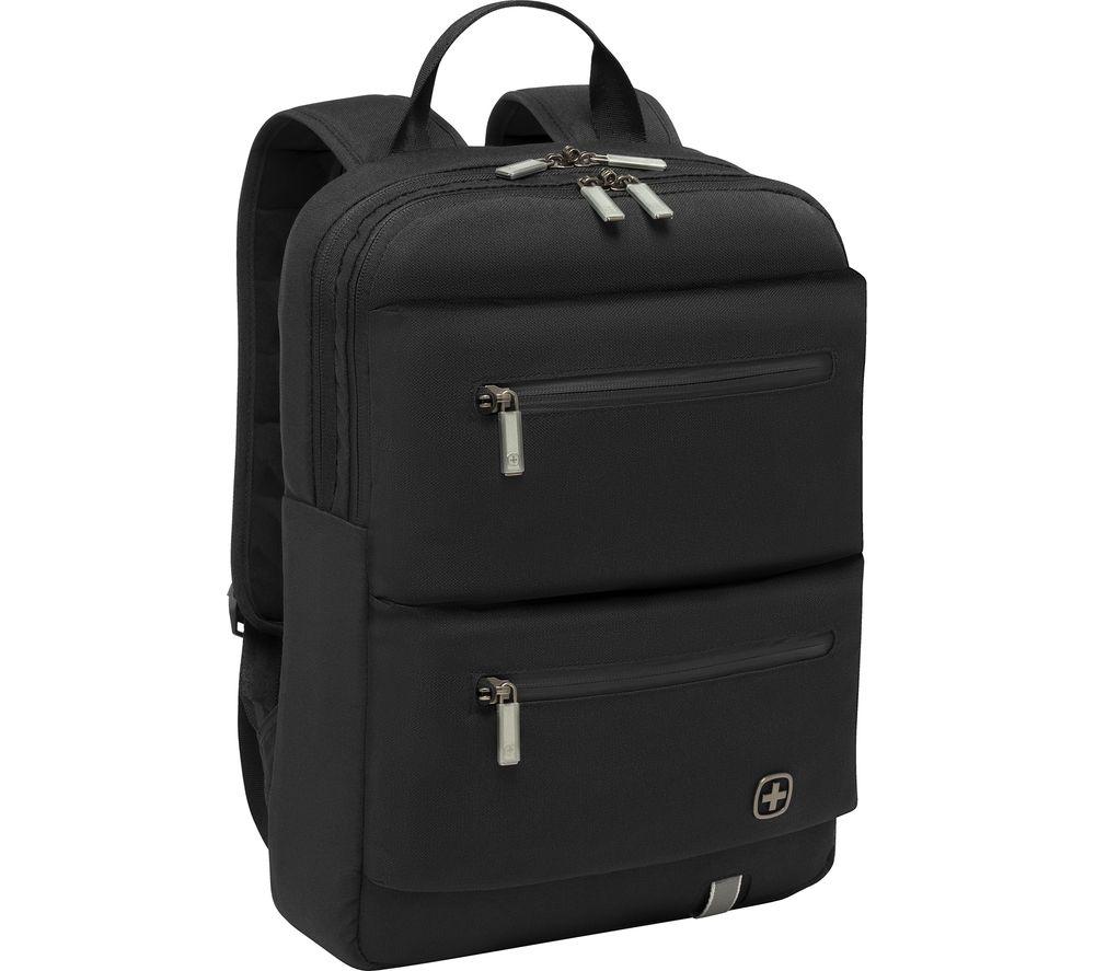 "Image of WENGER CityMove 14"" Laptop Backpack - Black, Black"