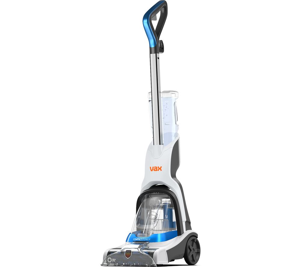 Image of VAX Compact Power CWCPV011 Upright Carpet Cleaner - White, White