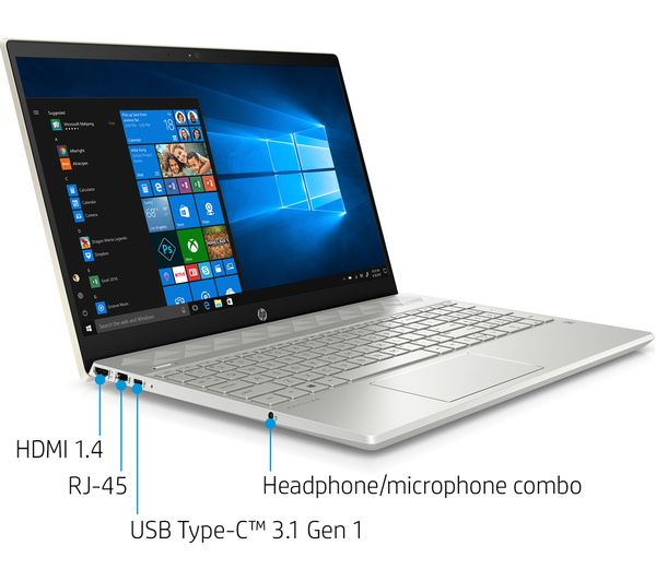 Buy Hp Pavilion 15 Cw1507sa 15 6 Amd Ryzen 5 Laptop 256 Gb Ssd Silver Free Delivery Currys