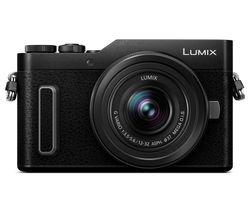 Lumix DC-GX880 Mirrorless Camera with G Vario 12-32 mm f/3.5-5.6 Asph. Mega O.I.S. Lens - Black