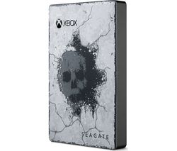 SEAGATE Gears of War 5 Special Edition Game Drive for Xbox - 2 TB, Grey