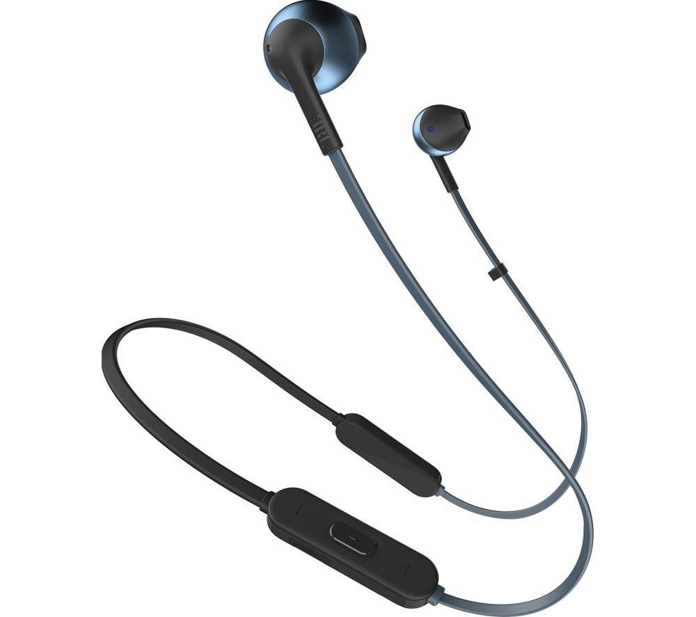 JBL Tune 205BT Wireless Bluetooth Earphones - Blue