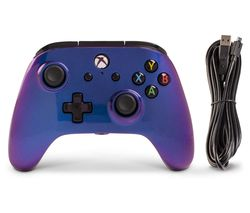 Xbox One Enhanced Wired Controller - Cosmos Nebula