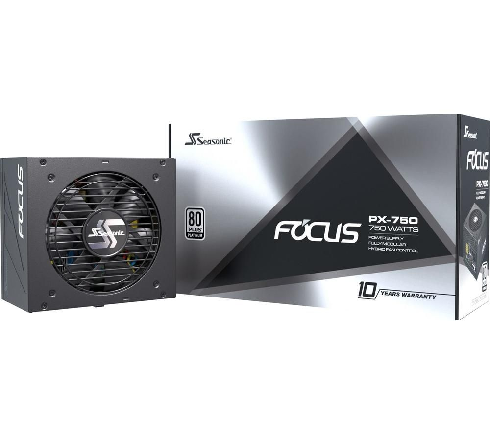 Image of SEASONIC Focus PX 750 ATX Modular PSU - 750 W