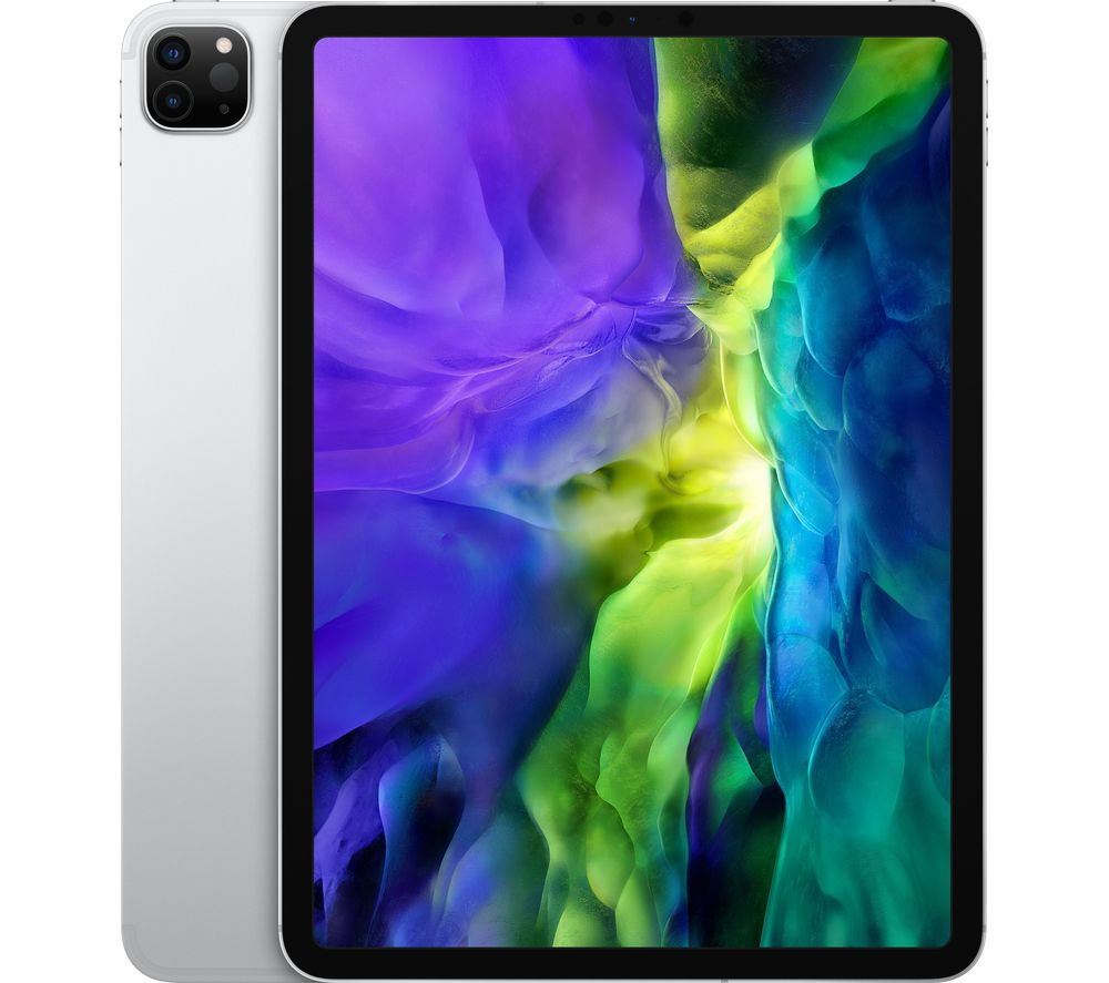 """Image of Apple 11"""" iPad Pro (2020) Cellular - 1 TB, Silver, Silver"""